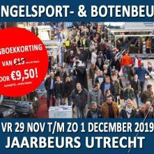 Hengelsport- en Botenbeurs 2019 – Online ticketverkoop gestart!