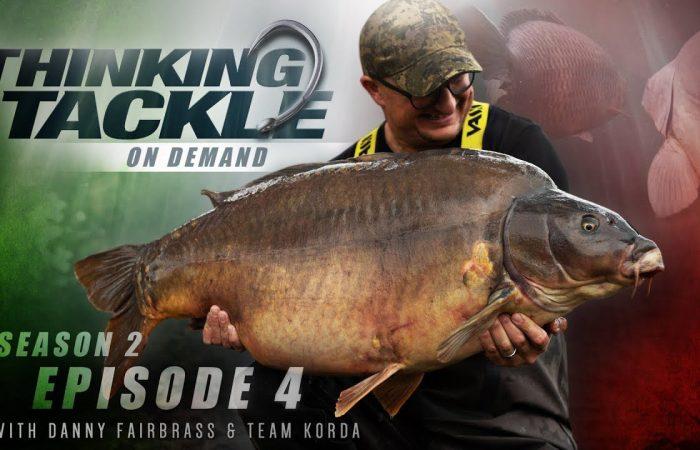 TOPVIDEO: Thinking Tackle – Danny Fairbrass en Team Korda vissen in Italië!