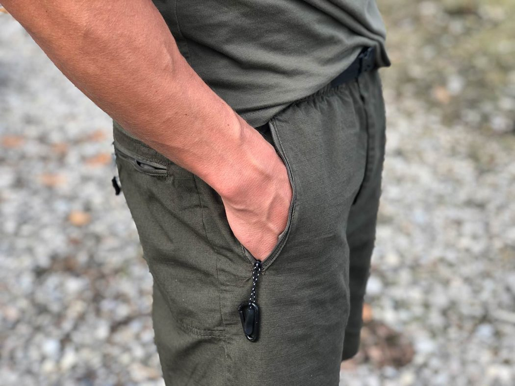 Carpy, de perfecte pasvorm én kwaliteit: de nieuwe Elements Trail broeken van Fortis!