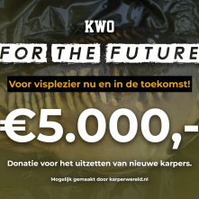 VIDEO: Karper uitzetting in Nederland en België – Update over het KWO For The Future 2020 Project!