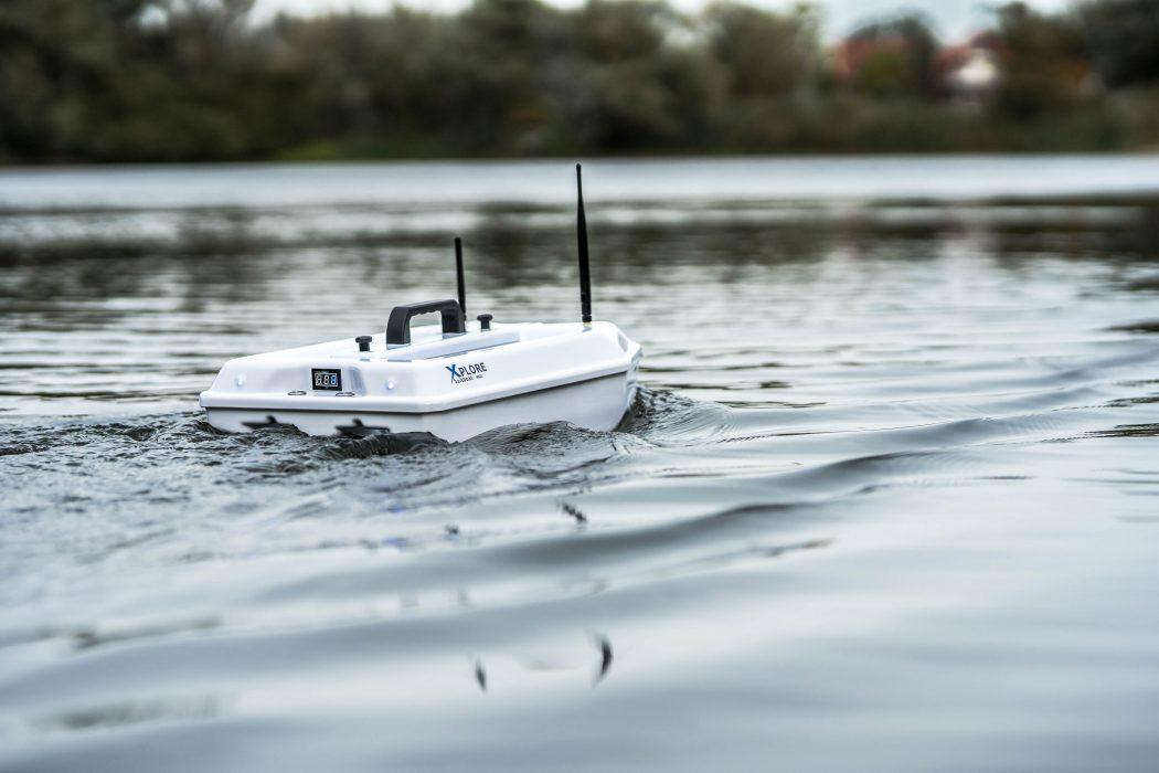 [VIDEO] Een blik op de nieuwe Xplore Baitboat MKII van Berns Baitboats!